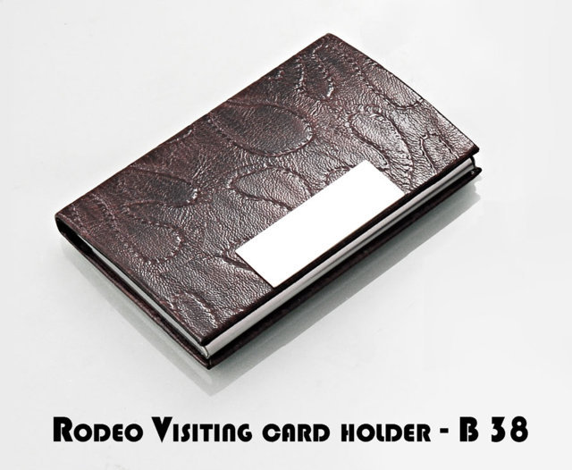 Rodeo Visiting Card Holder