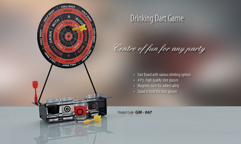DRINKING DART GAME