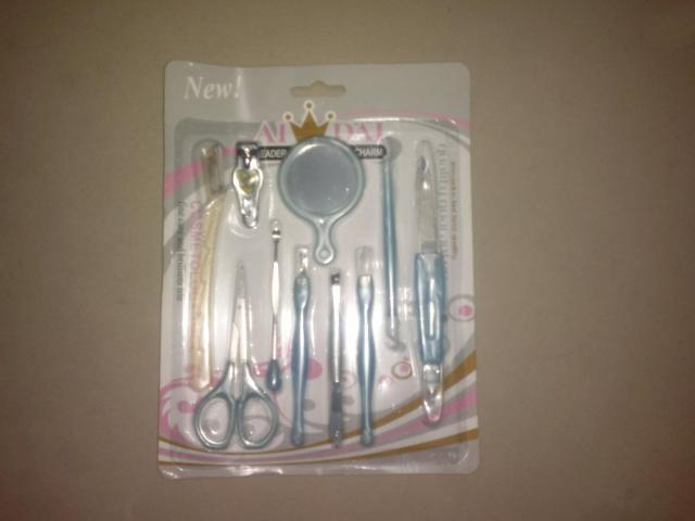 10 PCS PEDICURE SET