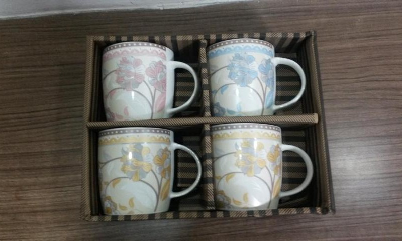 MUG SET OF 4 PCS