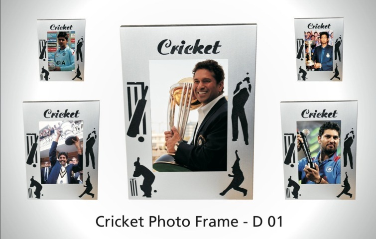Cricket Photo Frame (metal)