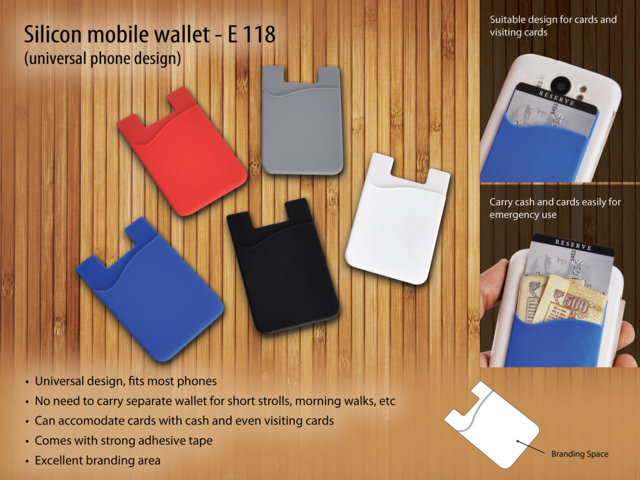 Silicon mobile wallet
