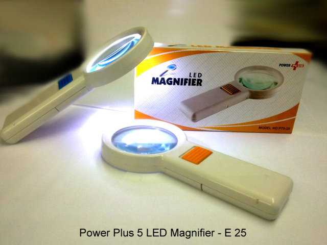 Power plus 5 LED Magnifier