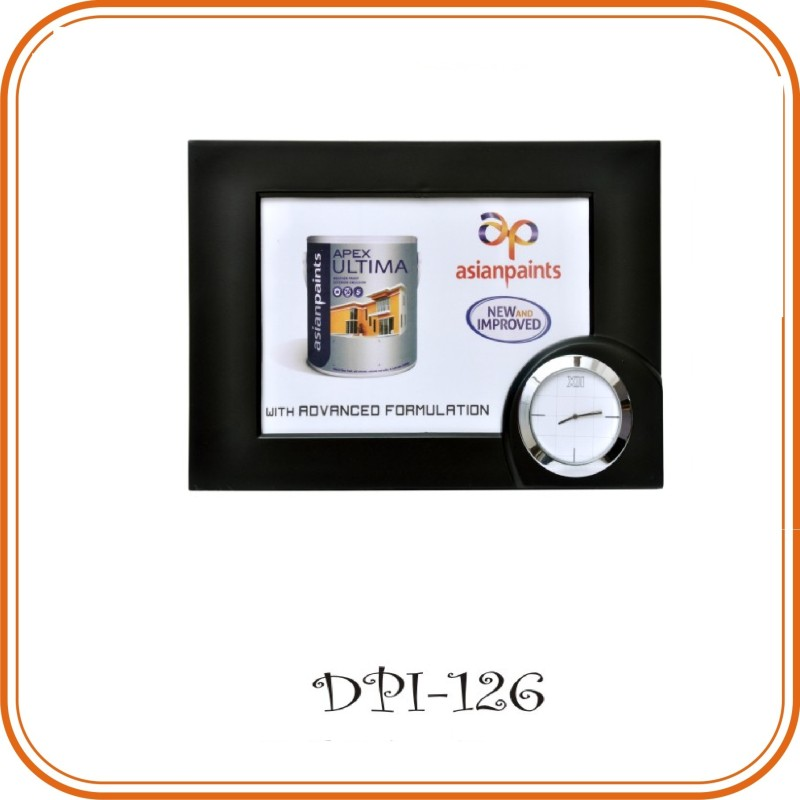 2 in 1 Photo Frame Table Clock