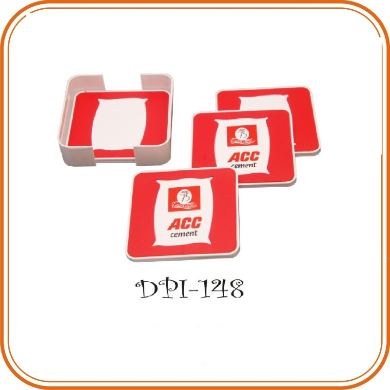 Promotional Coaster for Cement Companies - Coaster Set of 4