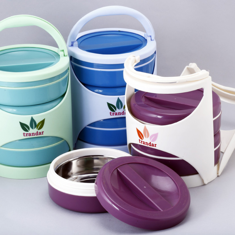 Stylo Lunch Box ( SS 3 Containers)