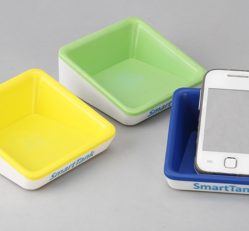 Multi Mobile Holder - Blue , Yellow and Green
