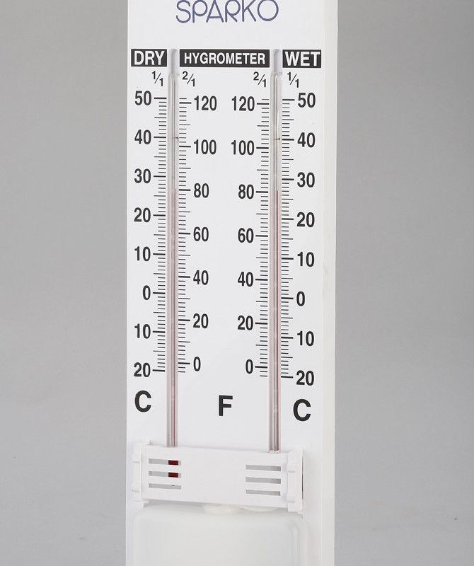 Dual Wall Thermometer - Temperature and Humidity Display