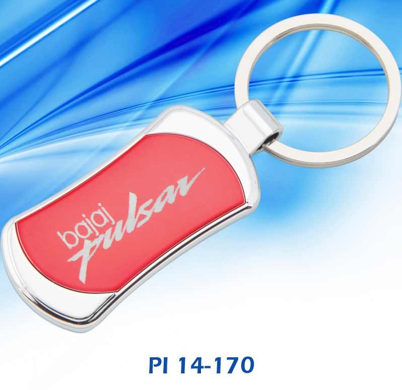 Customised Metal Key Chain : Model Bajaj Pulsar