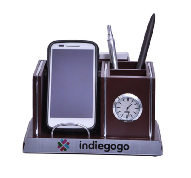 Customised Mobile Holder with Multipurpose Penstand- INDIEGOGO