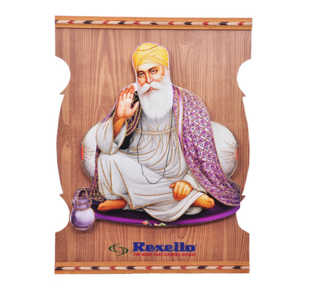 "Customised Photoframe Guru Nanakji 18"" x13¾"" -REXELLO"