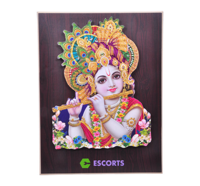 "Customised Photoframe Murli Bal Kishan - 18""x14"" - ESCORTS"