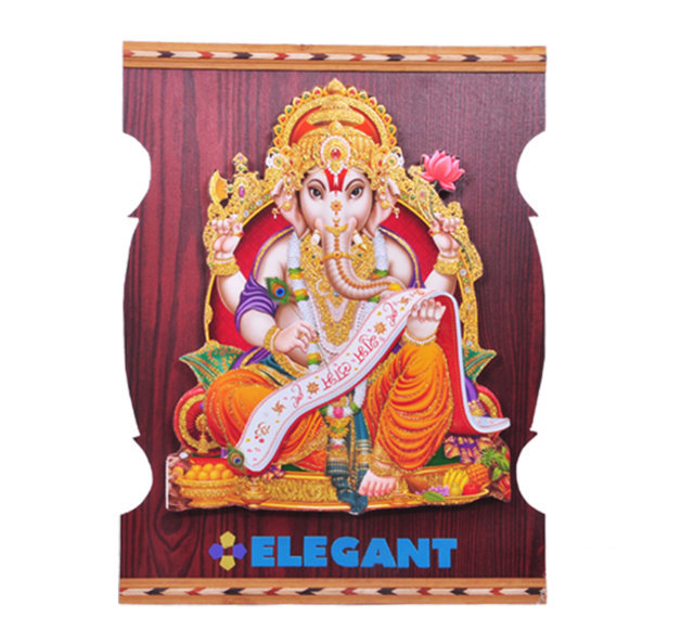 "Customised Photoframe Lekha Ganesh 18""x13¾"" - ELEGANT"