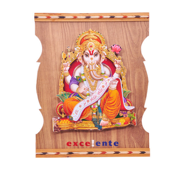 "Customised Photoframe Lekha Ganesh 14""x11"" - EXCELLENT"