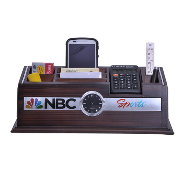 Customised Pen Stand Multipurpose with Calculator - NBC Sports